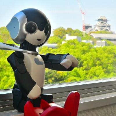 ロビ2が熊本の会社に行ってきました